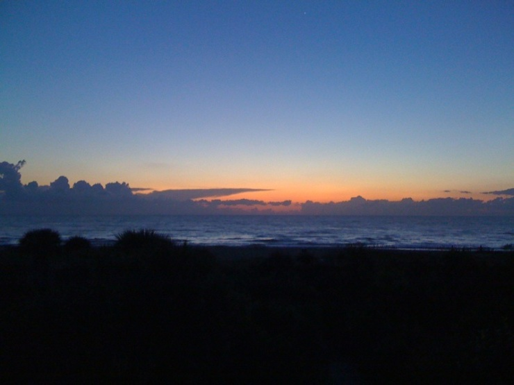 Sunrise on Cocoa Beach
